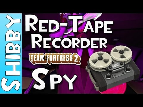 TF2 - Red Tape Recorder Gameplay vs Stock Sapper - New Spy Weapon Gameplay Commentary