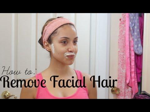 remove facial hair painless