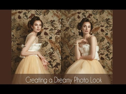 Creating A Dreamy Photo Look | Vintage Photo Look | Fashion Portrait