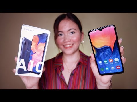SAMSUNG GALAXY A10 UNBOXING & FIRST IMPRESSIONS | NEW BUDGET KING?