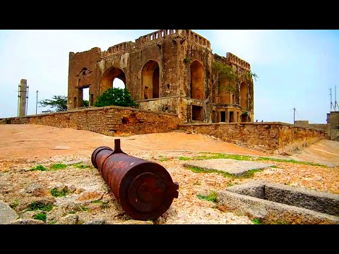 Historical Bhongir Fort, ( Bhuvanagiri Kota ) Nalgonda, Telangana, India | HD Video