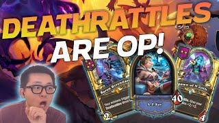 Deathrattles are OP! - Hearthstone Battlegrounds
