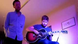 Bobby Long & Joe Summers - Angel from Montgomery (John Prine Cover) at Café Ententeich in Weilburg