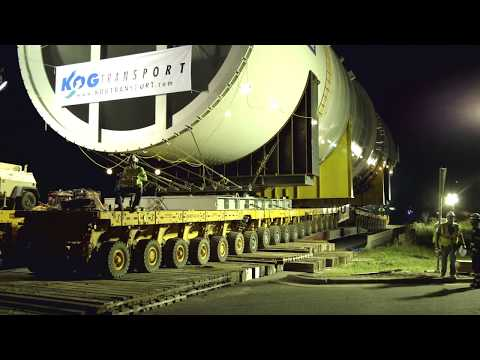 KOG Transport - Heavy Lift for Linde Group