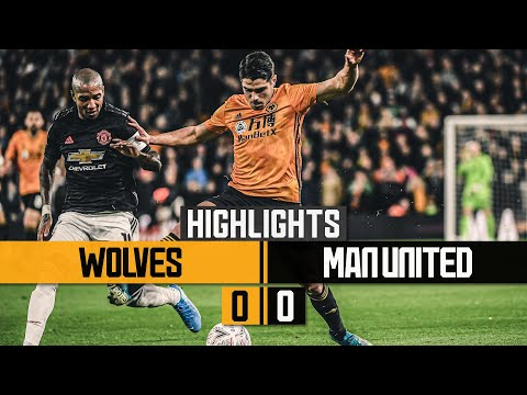 Wolves can't find a way through | Wolves 0-0 Manchester United | Highlights