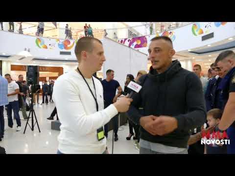 MMA Novosti Intervja sa Dusan Dzakic nakon vage!