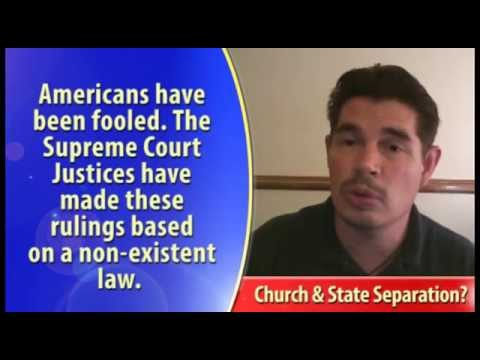 Separation of Church and State -- Really?