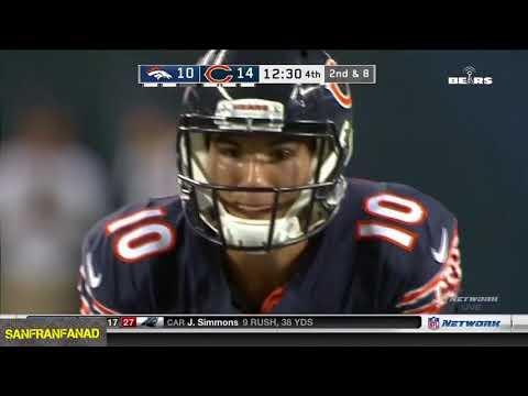 Mitch Trubisky vs Broncos (Preseason Week 1) - 166 Yards + TD, Starter?!   2017-18 NFL Highlights HD