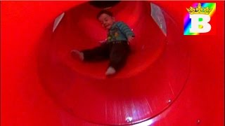 Indoor playground for kids with big slider and pool balls.  Fun for kids at Bogdan`s Show