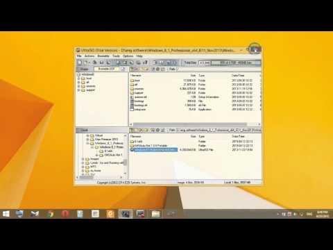 How to Create Windows 8.1 Bootable USB Drive using UltraISO