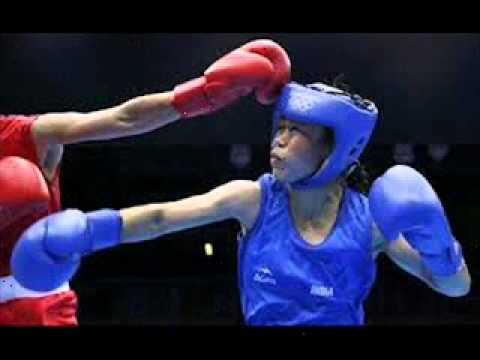 India's Mery Kom Hmangte won bronze medal-women's flyweight 51kg london olympic