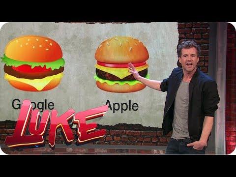 Emoji SKANDAL! Google vs. Apple - LUKE! Die Woche und ich | SAT.1