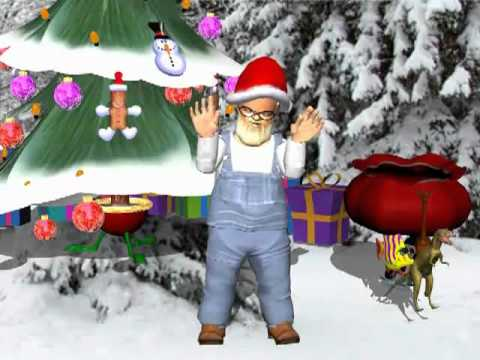 Grandpa Jones talks to the kids about Christmas - YouTube