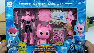 Unboxing Mainan Mini force | Mini Force Lucy | Mini Force Sammy | Avngers