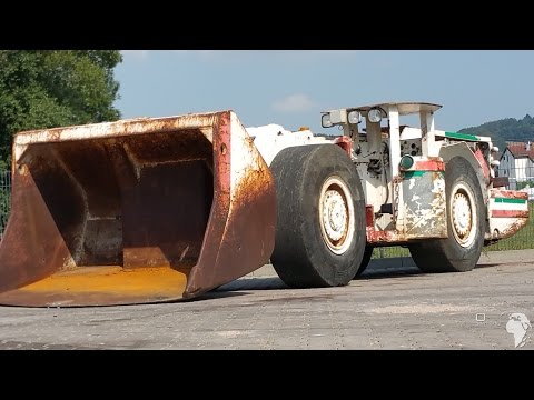 ✅ Eimco 913LHD  Load Haul Dump Used For Sale Scooptram Underground Loader Tunnel Equipment