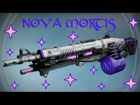 Destiny Nova Mortis Exotic MachineGun Complete Quest Songs from The Void + Artifact Quest