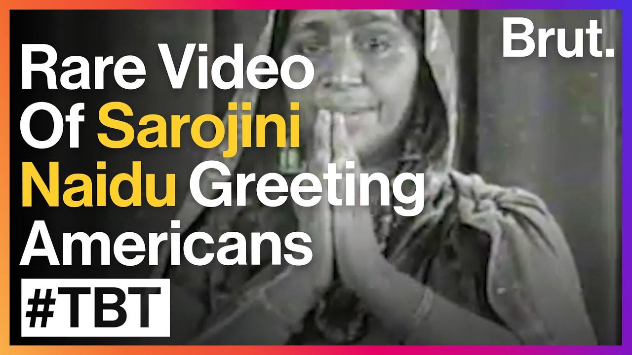 Sarojini Naidu In America