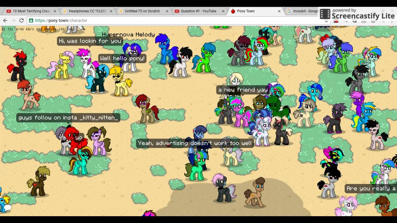 Pony Town Roleplay Oh Yes 18 Scene Youtube