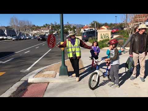Become a Santa Barbara Police Department Crosswalk Hero!