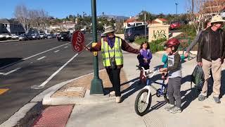 Become a Santa Barbara Police Department Crosswalk Hero!