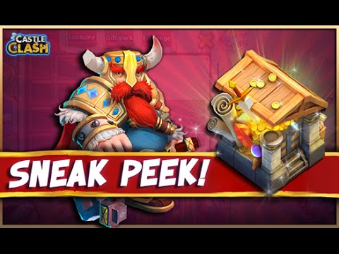 #076 Castle Clash Update! - New Building & Arena Mode