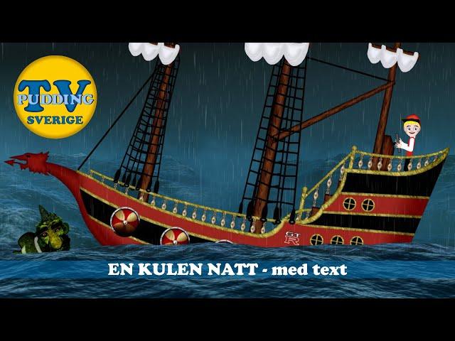 En kulen natt - med text | Svenska barnsånger