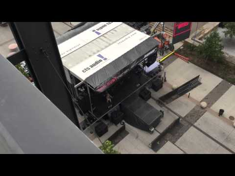 Sam Hunt sound check