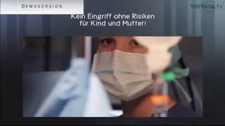 Aufklärungsfilm: Kaiserschnitt