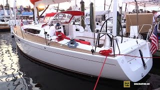 2016 J122e Performance Cruiser Yacht - Walkaround - 2015 Annapolis Sail Boat Show