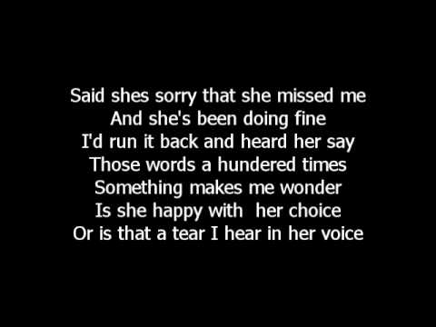 Is that a tear  Tracy Lawrence