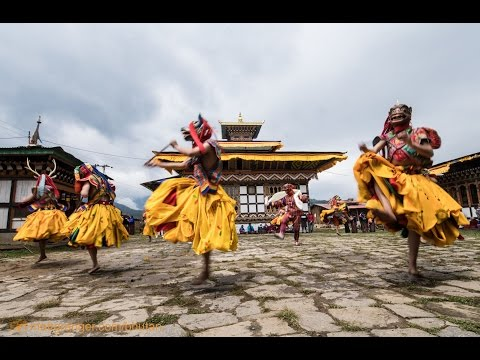 Bhutan remote religious festival - VLOG 1