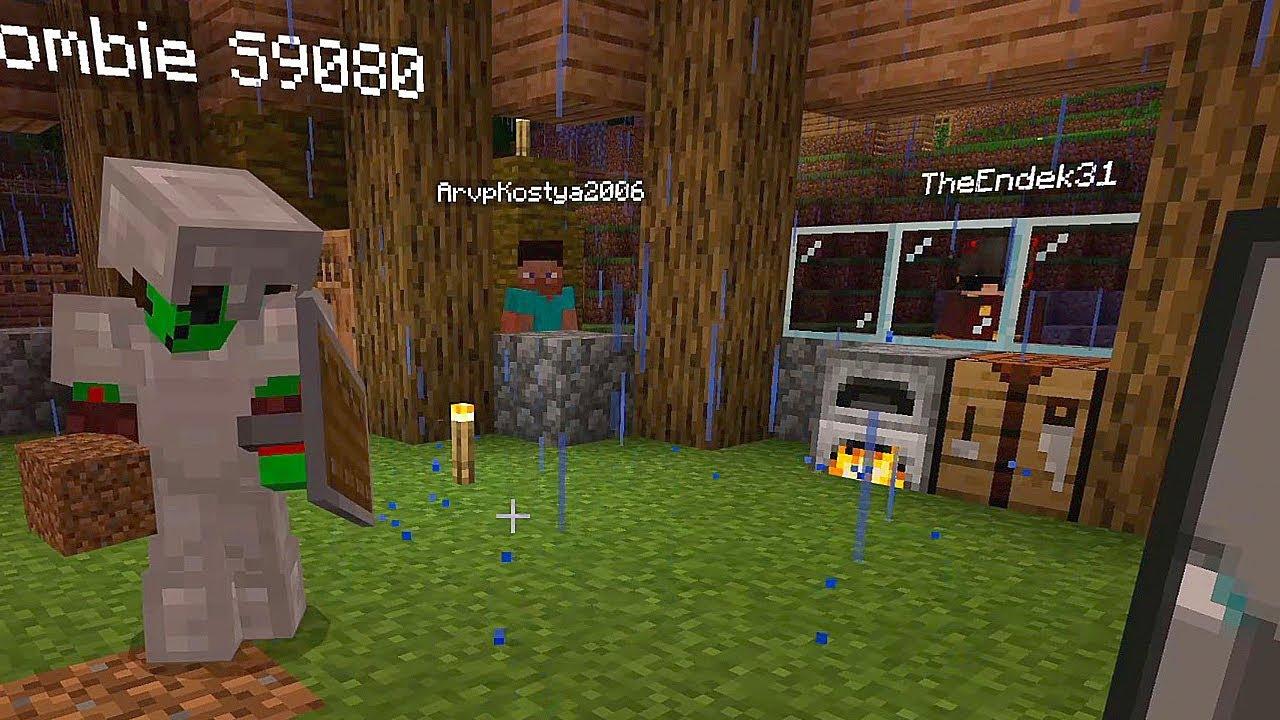 Minecraft часть 13 - ПЕРЕЕЗД В НОВУЮ ДЕРЕВНЮ