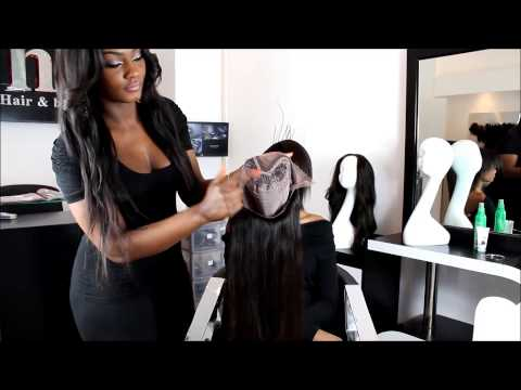 La U-Partie wig by Hair Fashion Style (Tutorial) - How to put it on