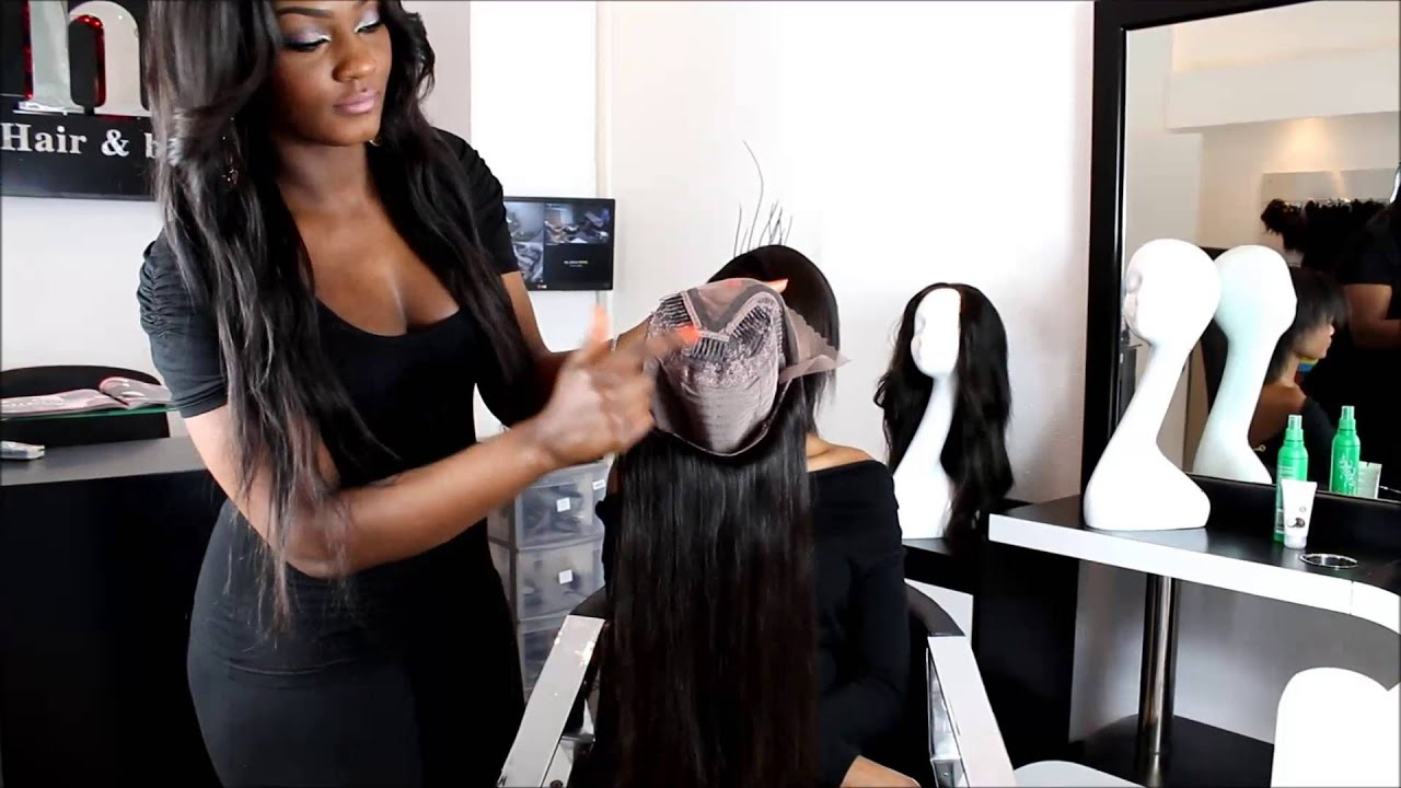 La U Partie Wig By Hair Fashion Style Tutorial How To Put It On Youtube