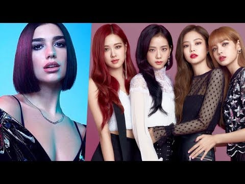 """BLACKPINK X DUA LIPA """"KISS AND MAKE UP"""" SONG RELEASE DATE OCTOBER 19, 2018"""