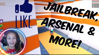 JAILBREAK AND ALL OVER ROBLOX TONIGHT!!! (FACECAM)