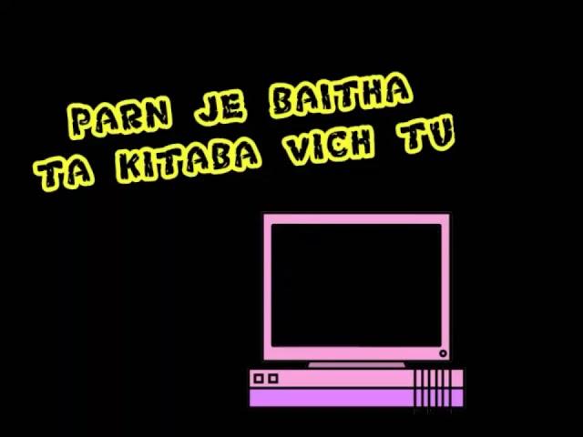 Socha vich tu punjabi song what app status