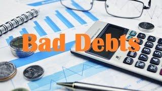 Bad Debts (Allowance Method, Direct Write Off)