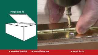 How To Build A Storage Box - DIY At Bunnings