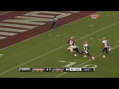 Seminole Moment: James Wilder Jr.'s  37-Yard TD Run vs. Syracuse (2013)