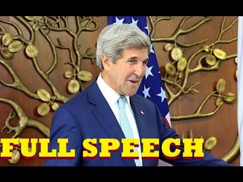 John Kerry Full Speech at IIT Delhi Townhall, India 2016 | US Senator & Secretary Of State