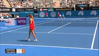 Daniela Hantuchova v Ajla Tomljanovic Highlights, Apia International Sydney 2014
