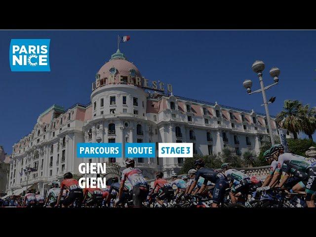 Paris-Nice 2021 - Découvrez l'étape 3