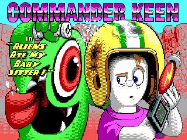 Jouez à Commander Keen 6 - Aliens Ate My Baby Sitter! sur PC DOS/Windows