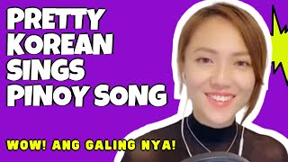 Tagu-taguan   Cover By A Pretty Korean ❤️   Trending Pinoy Song Cover