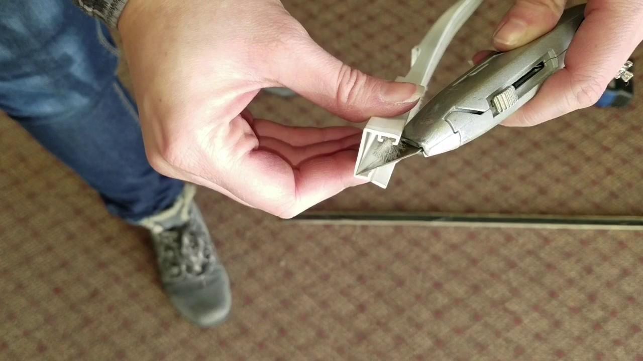 Hurd Sliding Patio Door   Replace U Channel #505