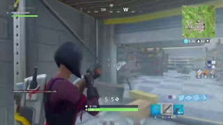 WE LIVE  FORTNITE TRYING TO GET A SOLO WIN GAME PLAY PS4]