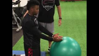 Arm Care Lesson 4: Integrate Core Stability Exercises with Scapular Control Training