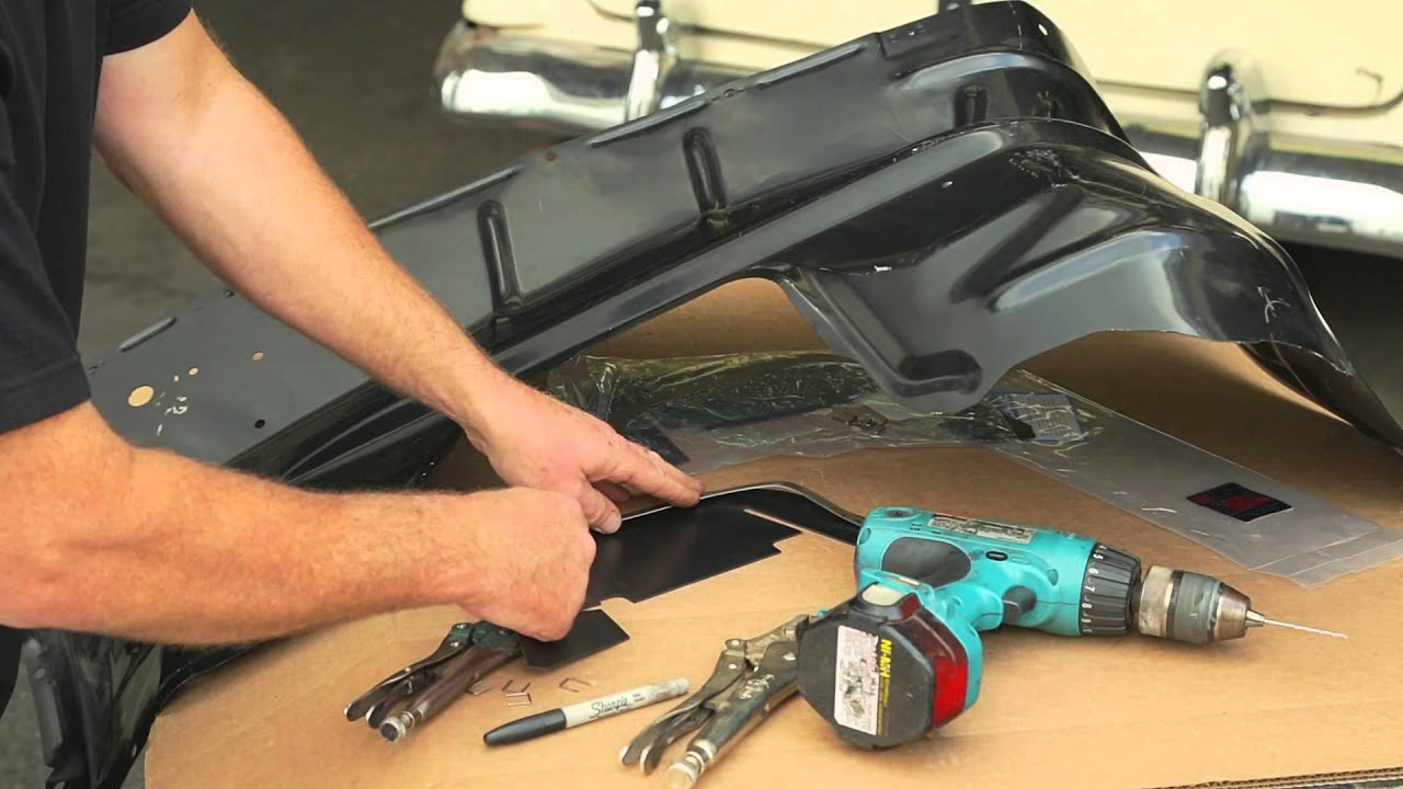 Ultra Soft Car Fender Covers: How To Install Late 1955 & 1956 Chevy A-Arm Dust Shields