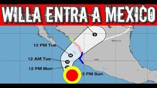 #Noticias #Mexico Huracan Willa y Vicente Llegan a Mexico